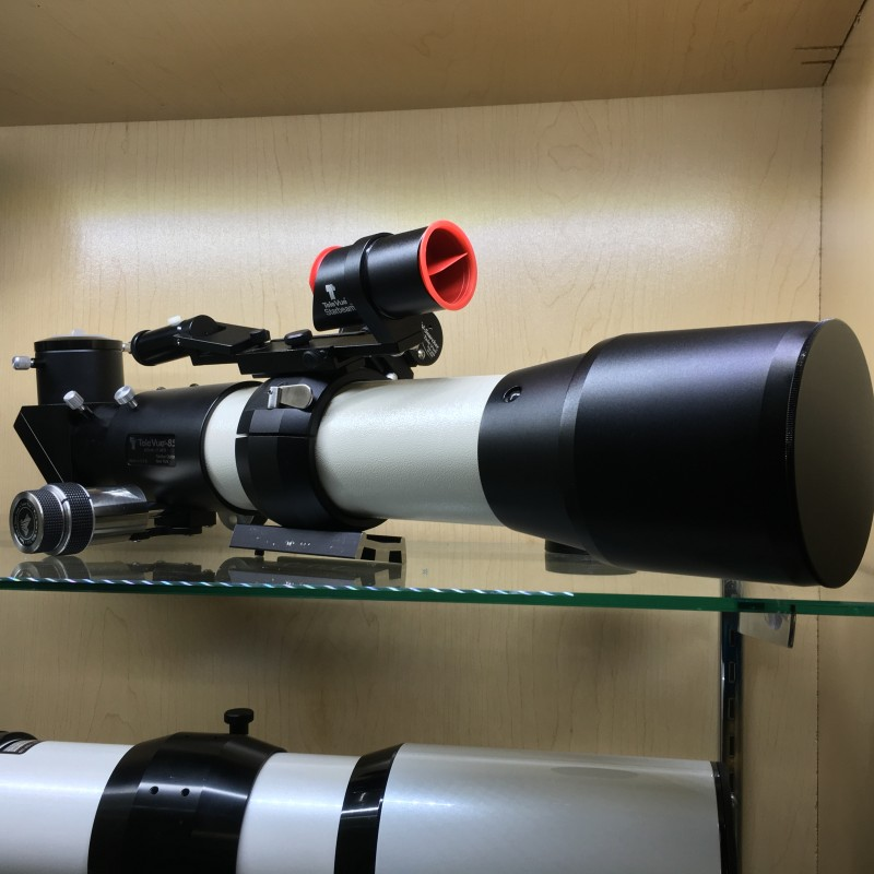 Televue TV85 85mm ED Refractor with finders and dual speed focuser (USED)