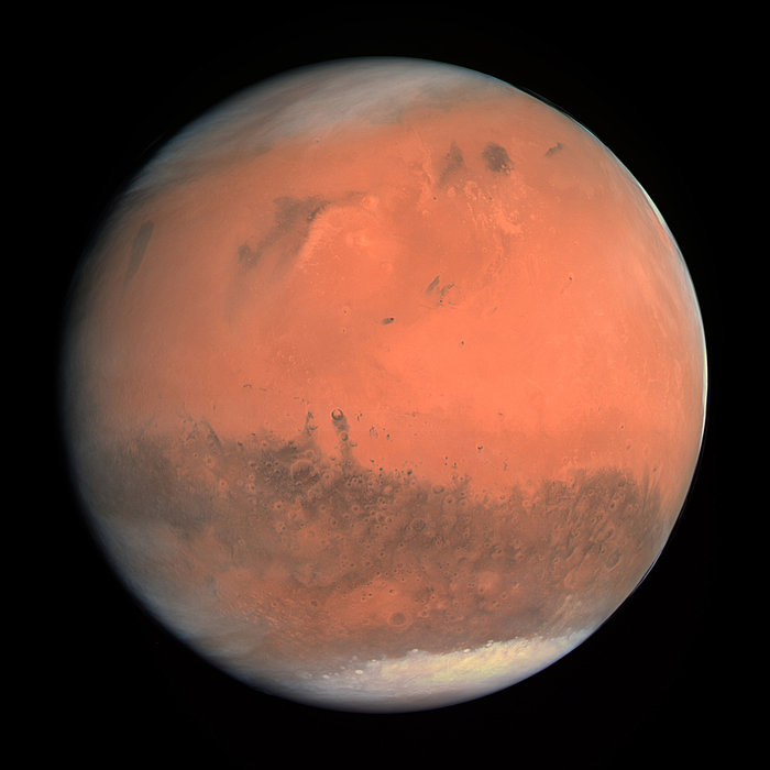 Mars,courtesy European Space Agency